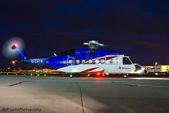 Sikorsky S-92 G-CGYW (M. Leith Photography) Tags: metal scotland nikon aviation s helicopter heavy bristow spotting 2014 aberdeenairport 18105mm d7000 aberdeendyce dyceairport markleithphotography