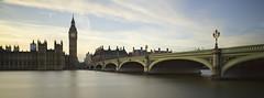 Westminster (Steve Dubois) Tags: longexposure london clock westminster thames river housesofparliament bigben