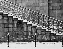 SAM_4339b_jnowak64 (jnowak64) Tags: bw poland polska krakow cracow zima mik malopolska architektura schody wiadukt krakoff vision:text=0529 vision:outdoor=0937