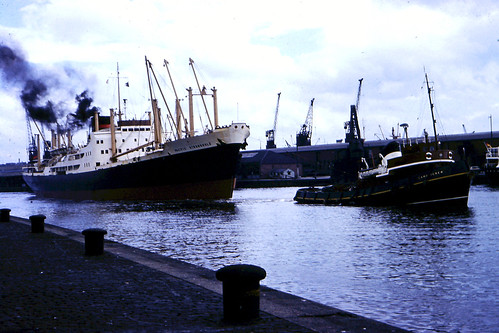 MV Pacific Stronghold River Clyde 1960s