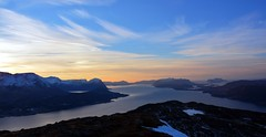 Where five fjords meet (Martin Ystenes - http://hei.cc) Tags: mountains norway norge norwegian fjord fjell vestlandet sunnmre mreogromsdal storfjorden sykkylven sunnmrsalpene sunnmrsalpane sykkylvsfjorden mygearandme mygearandmepremium mygearandmebronze