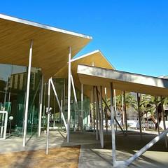 Junko Fukutake Hall 岡山大学, Okayama, Japan (Ken Lee 2010) Tags: building japan sanaa okayama kazuyosejima ryuenishizawa 妹島和世 西沢立衛