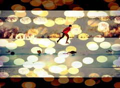 red (an orange dedication) (♥Adriënne - catching up......) Tags: light sidebyside textured sochi takeabow winterinthenetherlands otheensekreek addyvanrooij qualitysurroundings abokehoflight wearetheworldwearethepeople ♥adriënne