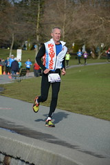 First Half Feb 16 2014 095400 (gherringer) Tags: canada vancouver race outdoors athletics downtown bc exercise britishcolumbia competition running seawall runners englishbay stanleypark colourful westend fit active bibs 211km 131mi vanfirsthalf