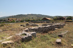 archaeological evidence of illyria  (cyberjani) Tags: travel albania illyria ballsh malakastra