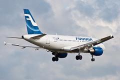 Finnair Airbus A319 (mikper) Tags: plane aircraft aviation finnair aeroplane approach essa airliner arlanda arn airbusa319 a319112 runway19l
