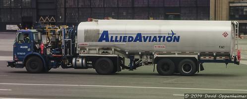 Allied Aviation Jet Fuel Truck