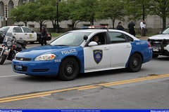 ohio chevrolet memorial university peace cleveland reserve police case parade western impala officers 2014