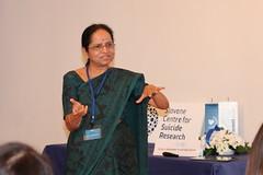 """Prof. Lakshmi Vijayakumar: Dejavnosti preprečevanja samomorilnega vedenja v skupnosti • <a style=""""font-size:0.8em;"""" href=""""http://www.flickr.com/photos/102235479@N03/14035335588/"""" target=""""_blank"""">View on Flickr</a>"""