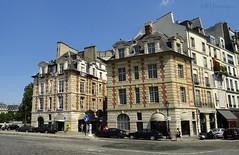 Entrance to Place Dauphine (eutouring) Tags: travel paris france architecture buildings square entrance pont neuf dauphine pontneuf placedauphine