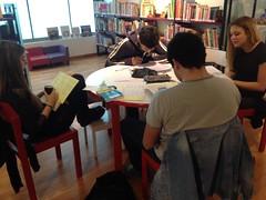Révisions à la Bibliothèque (gab113) Tags: bibliotheque bac levallois revisions