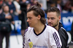 Harry Styles & Liam Payne (vagueonthehow) Tags: onedirection harrystyles liampayne niallhorancharityfootballchallenge