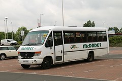McDade's, Uddingston VX57GYU (busmanscotland) Tags: 3 beaver mercedesbenz vario uddingston plaxton mcdades o814 vx57gyu