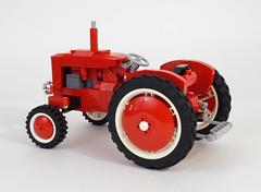 07 (LegoMarat) Tags: tractor lego retro technic moc