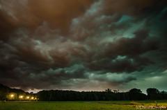 Unwetterfront (Daniel Konopka) Tags: photoshop blitz gewitter ruhrgebiet regen lightroom hagel sturm marl dramatischerhimmel tamron1024mm unwetterfront nikond7000 pfingstumwetter unwetter2014