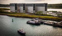 2014 - Panama Canal Transit - New Lock Gates (Ted's photos - For Me & You) Tags: water pier dock nikon gates panama tugs buoy artbook panamacanal gatun d600 gatunlocks rollinggates tedsphotos nikonfx