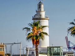 Farola. Desde el Puerto de Málaga (ASpepeguti) Tags: españa andalucía spain olympus andalucia andalusia malaga málaga alandalus puertodemálaga aspepeguti mzuikodigital1442mmii olympuspenepm1 photomatixpro50