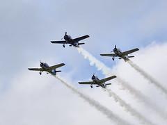 T28 Trojan Horsemen Team (Ennio Fratini) Tags: florida stuart stuartairshow2016 usa aerobatics airshow aircraft unitedstates