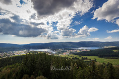 A great place to life... (Double.D - Photography) Tags: blackforest schwarzwald schluchsee see lake clouds wolken himmel sky forest wald colors sigma 1020mm canon canon600d doubled explore outdoor outside nature landschaft landscape