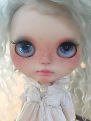 Blue Butterfly custom girl.