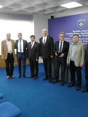 Empfang beim Bildungsminister der Republik Kosovo