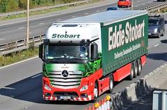 Eddie Stobart 'Lola Ella' (stavioni) Tags: eddie stobart truck traier lorry esl mercedes actros benz h3347 lola ella gn14wla