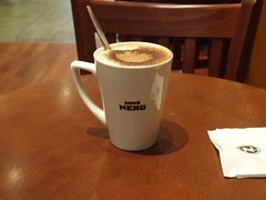 The Perfect Cappuccino Grande by Holly (MarkOM174) Tags: olympus olympusstylus1 bristol cappuccino corn st caffe nero stylus 1