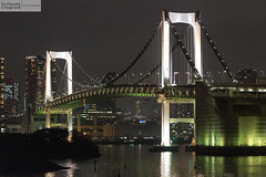 Rainbow Bridge (Guillaume Chagnard Photographie) Tags: japon tokyo japan odaiba rainbow bridge rainbowbridge