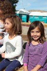 Kids on a hay ride 3 - cute Jovie (Aggiewelshes) Tags: october 2016 lehi utah travel cornbellys hayride jovie vivian jalila
