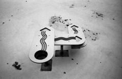 Empty pool with a toy (Nils Kristofer Gustafsson) Tags: blackandwhite bnw ishootfilm retro rollei 400s lomo lomography sweden rebro keepfilmalive filmisnotdead filmphotography film rodina adonal konica