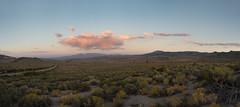 Highway 120 (OneEighteen) Tags: sky cloud desert road trip sunset