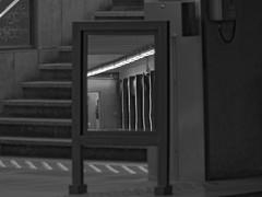 De l'autre côté du miroir - In the other side of the mirror (p.franche malade - sick) Tags: bruxelles brussel brussels belgium belgique belgïe europe pfranche pascalfranche panasonic fz200 hdr dxo flickrelite skancheli monochrome noiretblanc blackandwhite zwart wit blanco negro schwarzweis μαύροκαιάσπρο inbiancoenero 白黒 黑白чернобелоеизображение svartochvitt أبيضوأسود mustavalkoinen שוואַרץאוןווייַס bestofbw miror miroir métro metro heysel human people spy espion reflection reflexion stair escalier urban sreetshot snapshot door porte