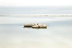 dock (PenelopeEfstop) Tags: capecod horizonline ocean minimal landscape muted dock