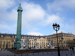 La place Vendme, Paris, France (Marylou1504) Tags: paris france europe idf vendme tour ciel bleu ville city urban sculpture