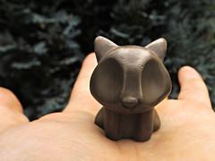 Bronze Cat (Mr.Burning (ChompStomp)) Tags: folksy catsonflickr catlovers bronzeanimal totemanimal spiritanimal bronzecat britart artist handmade