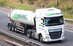 DAF XF Euro 6 - MILREC Peterhead (scotrailm 63A) Tags: lorries trucks tankers