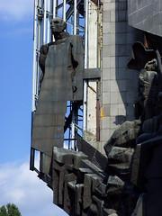 Sofia, Bulgaria - detail of a derelict public sculpture (johnnysenough) Tags: sofia  bulgaria blgarija bulgarie bulgarien centraleurope capitalcity travel vacation 100citiesx1trip derelict public sculpture snv37481