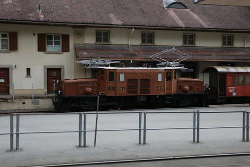2016-06-30, RhB, Bergün/Bravuogn, Ge 6/6' 407