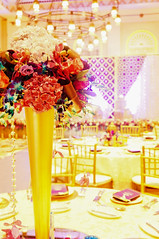 Setup (Purrple Orryx) Tags: weddings wedding engagement setup ceremony fabrication staging backdrop decor decoration centrepc florals arch lighting av technical production jumeirah madinat 2016 october