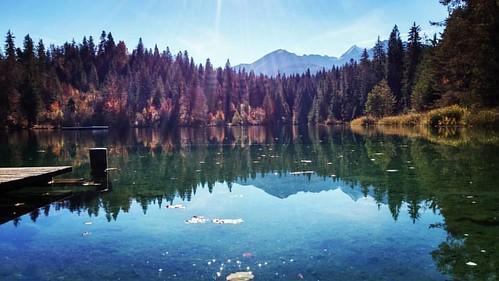 Vom Crestasee zum Caumasee. #Wanderung #See