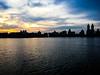 Dusk at Central Park - New York (LeChatBleu) Tags: centralpark newyork jacquelinekennedyonassisreservoir dusk sky