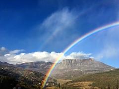 Радуга из вчера #crimea #rainbow #демерджи