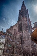 Strasbourg_Cathdrale Notre Dame_HDR.jpg (scale_perspectivist) Tags: cathedral strasbourg 5dmarkii 5dmii ef1740 canon1740 wideangle hdr canonef1740