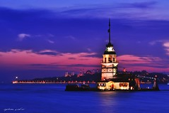 Queen of the Night, Maiden's Tower (NATIONAL SUGRAPHIC) Tags: leanderstower kızkulesi maidenstower istanbul ayhançakar nationalsugraphic sugraphic sanatınustaları mastersoftheart newturkei yenitürkiye türkiye turkei türkei üsküdar uzunpozlama longexposure sunset sunsets günbatımı günbatımları cityscape cityscapephotography cityscapes historicpeninsula tarihiyarımada
