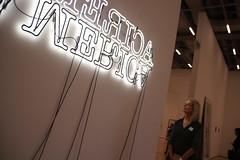 America in neon (bobmendo) Tags: moma sanfrancisco sfmoma museumofmodernart neonsign neon america merica