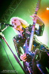 Girlschool @ Le Trianon, Paris | 14/11/2016 (Philippe Bareille) Tags: jackiechambers guitarist guitarplayer girlschool hardrock classicmetal heavymetal paris france letrianon 2016 music live livemusic show concert gig stage band rock rockband metal canon eos 6d canoneos6d musicwavesfr english