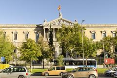 Biblioteca Nacional - Madrid (rschnaible) Tags: spain madrid espana europe building architecture outdoors old historic history national library biblioteca nacional street photography