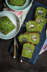 Matcha Chestnut Pound Cake (TailorTang) Tags: matcha greentea chestnut maron food foodphotography stilllife 50mm 5014 green japanese poundcake loafcake