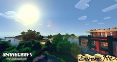 Serene HD Realistic Resource Pack for 1.10.2/1.9.4 (KimNanNan) Tags: minecraft 3d game online video games