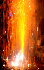Firework on Diwali (coolarun143) Tags: firefountain diwali deepawali firework festivaloflights crackers firecrackers fireworkphotography photography fire festival indianfestival festivals hindufestival 700d eos700d canoneos700d canon700d t5i rebelt5i canonrebelt5i canont5i